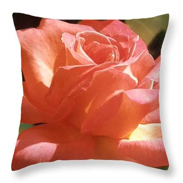 Afternoon Delight Throw Pillow by Belinda Lee