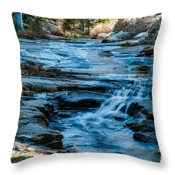 Afternoon Light On River. 1-7706  Throw Pillow