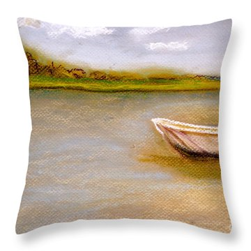 Tybee Island Afternoon On Alley 3 Throw Pillow