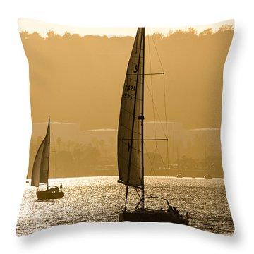 Afternoon Sails A2892 Throw Pillow