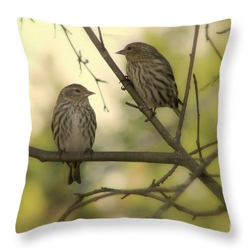 Afternoon Sit Throw Pillow