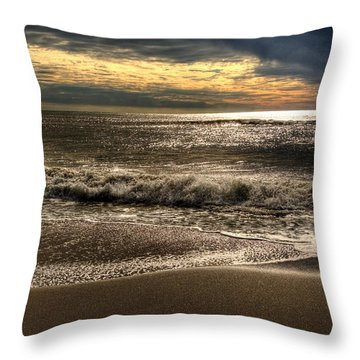 Throw Pillow featuring the photograph Afternoon Swell by Julis Simo