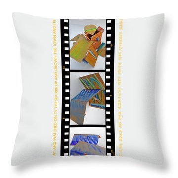 Aftershocking Throw Pillow by Charles Stuart