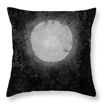 Throw Pillow featuring the drawing Afterward by Carol Jacobs
