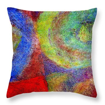 Again And Again Throw Pillow by Jim Whalen