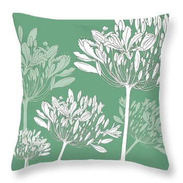 Patterns In Nature Throw Pillows