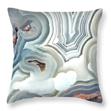 Agate 2 Micro Throw Pillow