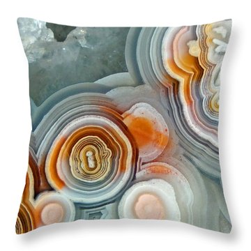 Agate 4 Micro Throw Pillow