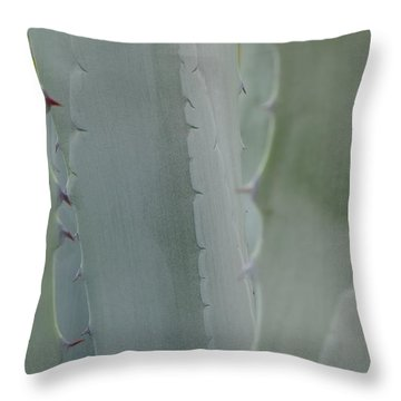 Agave Closeness Throw Pillow
