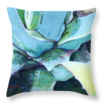 Agave Throw Pillow by David Randall