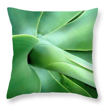 Agave Heart Throw Pillow