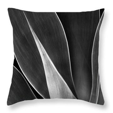 Agave No 3 Throw Pillow by Ben and Raisa Gertsberg