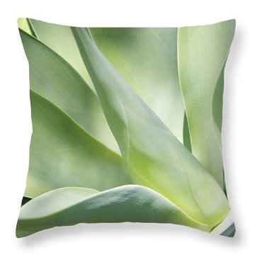 Agave Plant 2 Throw Pillow