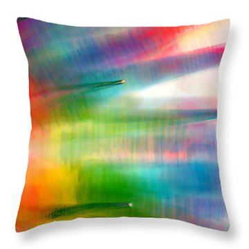 Age Of Aquarius Throw Pillow