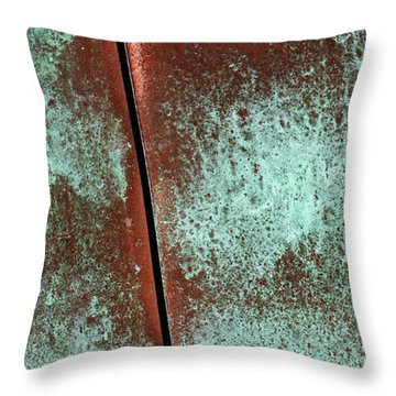 Throw Pillow featuring the photograph Aged by Heidi Smith