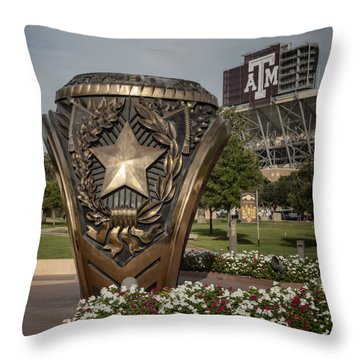 Aggie Ring Throw Pillow
