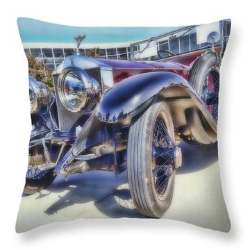 Aging Star - Soft Focus Throw Pillow by Larry Bishop