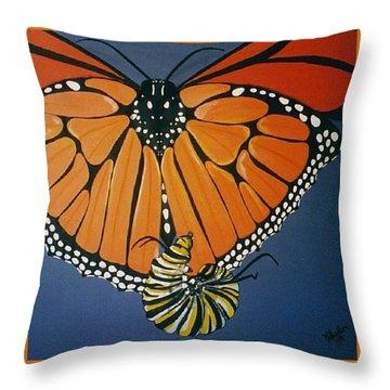 Ah To Fly Throw Pillow
