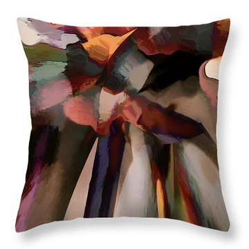Ahhh Harmony Throw Pillow by Margie Chapman