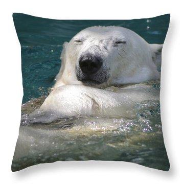 Ahhh Throw Pillow