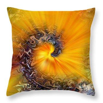Ahhhhh Throw Pillow