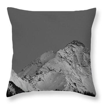 Ahornspitze After Midnight Throw Pillow