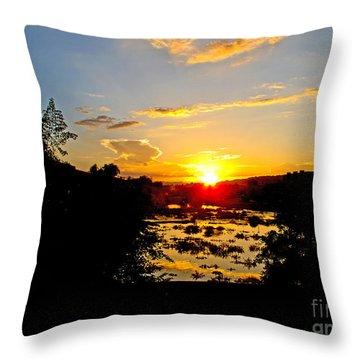 Ahwatukee Sunset Throw Pillow