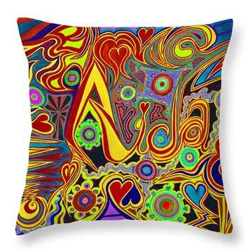 Aida 6  Throw Pillow