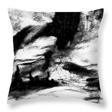 Ailleurs Throw Pillow by Hatin Josee