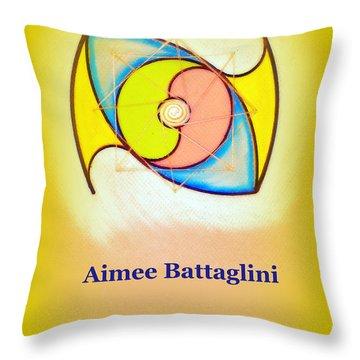 Aimee Battaglini Throw Pillow