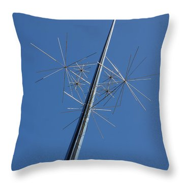Air And Space Museum Art Spire Throw Pillow
