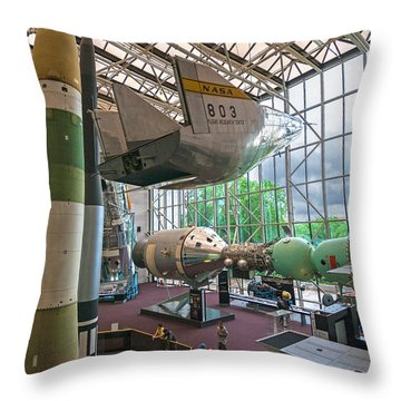 Air And Space Throw Pillow