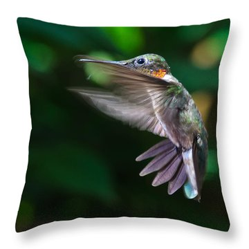 Air Brakes Throw Pillow