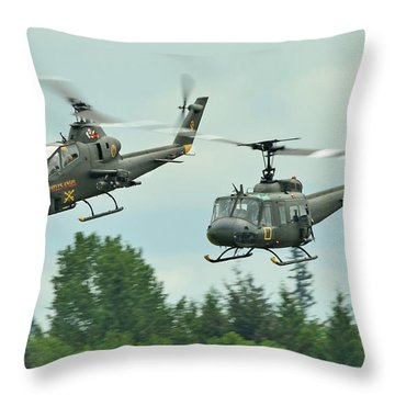 Air Cav Throw Pillow