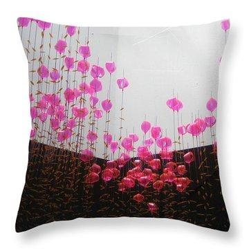 Air Jelly Throw Pillow