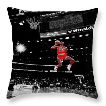 Air Jordan Throw Pillow