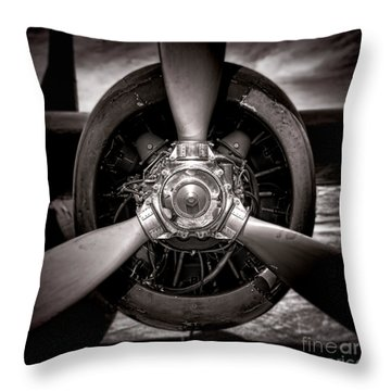 Air Power Throw Pillow