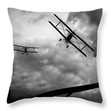 Air Pursuit Throw Pillow