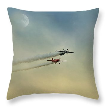 Air Show #35 Throw Pillow
