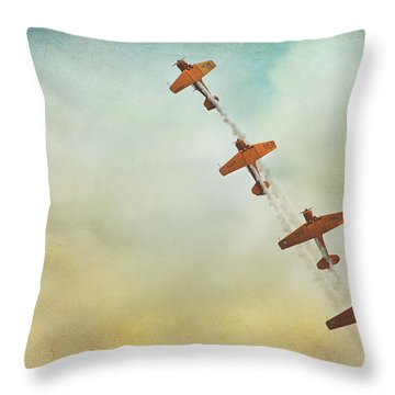 Air Show #40 Throw Pillow