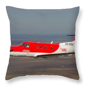 Air To Air Pc 12 Throw Pillow by Paul Job