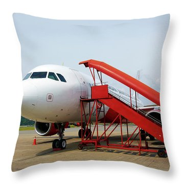 Taxiway Throw Pillows