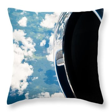 Tropical Skies Throw Pillow by Parker Cunningham