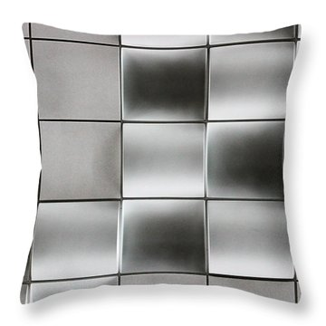 Airport Ceiling 13 Throw Pillow by Mary Bedy