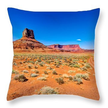 Airport Tower I Throw Pillow by Chad Dutson