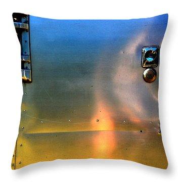 Airstream Sunset Throw Pillow by Newel Hunter