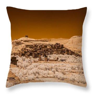 Ait Benhaddou Throw Pillow