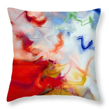 Aitherios II Throw Pillow