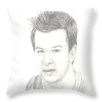 Aj Mccarron Throw Pillow