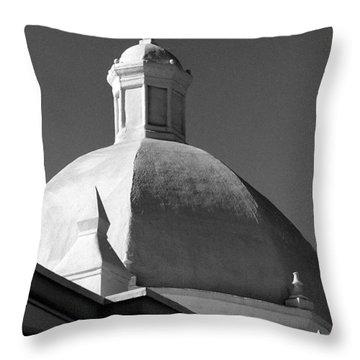 Ajo Church 2 Throw Pillow